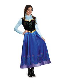 Womens Anna Frozen Prestige Costume