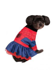 Dogs Spiderman Costume Dress