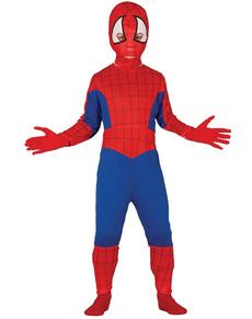 Boys Spider Superhero Costume