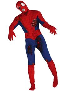 Mens zombie Spiderman costume